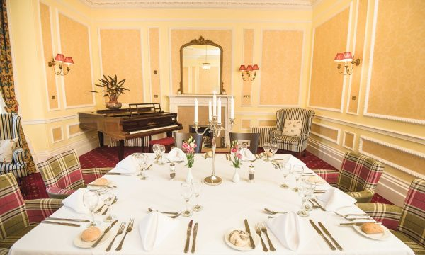 Private dinner in Nith Room