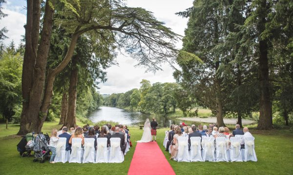 Outdoor Wedding by river