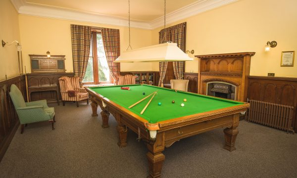 Snooker Table at Friars Carse